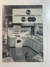 Vintage Catalogue's - Clark Kitchen & Laundry Catalogue's June 1963