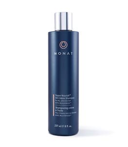 NEW/Sealed MONAT Super Nourish Oil Crème Shampoo for dry hair w Rejuveniqe monet