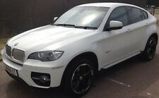 2009 59 WHITE BMW X6 35D XDRIVE 286 BHP GOOD CONDITION REAL HEAD TURNER