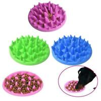 1Pc Silicone Pet Slow Food Bowl Dog Cat Feeder Digestion Puzzle Food Bowl C2I0