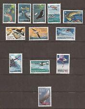Australian Antarctic Scott L23-L34, MNH, Food Chain-Explorers Aircraft set of 12