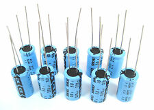 330uF 50V Radial Lead Electrolytic Capacitors: 10/Pack: Great Price