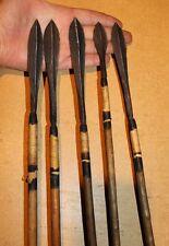 RWANDA 5 old african arrows flèches ancienes TUTSI afrique pijlen kongo pfeile