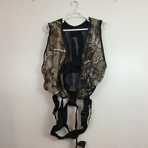2011 Ameristep Full Body Safety Harness Vest Camo Hunting System Treestand QC 3