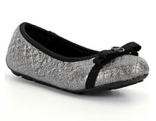 9e536031dc0d1a Silver Flat Shoes for Girls