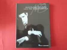 Michael Buble - Call me irresponsible. Songbook Notenbuch Piano Vocal Guitar PVG