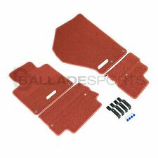 New Honda Access S2000 Euro 4 Pcs Left Hand Drive Red Floor Mat Set S2K AP1 AP2