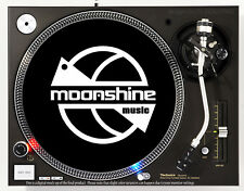 MOONSHINE MUSIC - DJ SLIPMAT 1200's or any turntable, record player