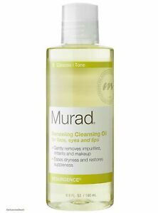 MURAD Renewing Cleansing Oil for Face Eyes and Lips 6 oz NEW Free Shipping
