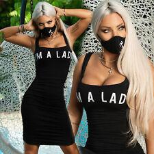 By Alina Mexton Damen Kleid Minikleid gerafft Bodycon-Kleid Partykleid XS-M