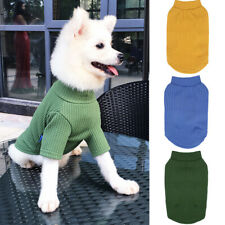 Cute Pet Dog Clothes Spring Autumn Warm T-shirt Cotton Vest Small Cat Puppy Coat