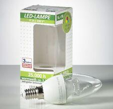 3 Stück LED E14, 4 Watt 250 Lumen Klar Lampe Kerzenlampe Kerze Kronleuchter L106