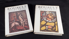 George Rouault Graphic Works 2 Volume Catalogue Raisonne by Chapon and Rouault