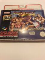 🤩 street fighter 2 turbo Neuf Blister Rigide Super Nintendo Factory Sealed Snes