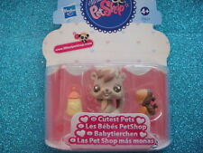 newORIGINAL Littlest Pet Shop 2562 cutest Pets Baby Squirrel Shipping withPolish