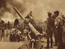British Army Artillery Gun And Crew World War 1 5x4 Inch Reprint Photo gw
