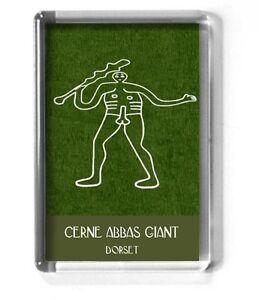 CERNE ABBAS GIANT fridge magnet 7x4.5cm DORSET, Hercules, Fertility, spiritual