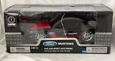 Radio Shack 1:15 Scale Remote Control Ford Mustang 102mph Scale Speed New In Box
