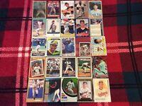 HALL OF FAME Baseball Card Lot 1980-2020 MARIANO RIVERA CLEMENTE RIPKEN FINGERS+