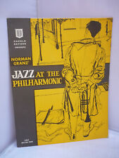 More details for norman granz jazz at the philharmonic - first british tour 1958