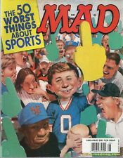 2001 (Aug.)  Mad Magazine, #408 The 50 Worst Things About Sports ~  Excellent