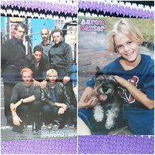 Rammstein und Aaron Carter Poster Sammlung