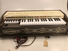 Vintage Audion Polychord Musicale Organ Keyboard Works But Court Has Been Fixed