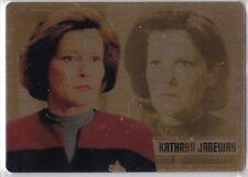 STAR TREK WOMEN OF 50TH ANNIVERSARY GOLD METAL WS14 KATE MULGREW KATHRYN JANEWAY