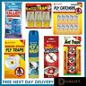 Fly Insect Catcher Sticky Glue Bug Trap Killer Strong Roll Tape Strip Ant Spider