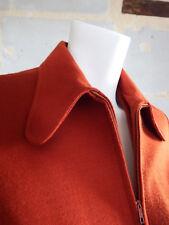 Veste pull Vintage 70 Rouille Trévois - Vintage 70 pull jacket Rouille Trévois
