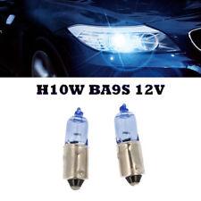 2 x H10W BA9S 12V Blue Vision Xenon Look Halogen Lampen Super White für BMW