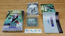 SEGA Game Gear Ecco Les Marées Du Temps PAL