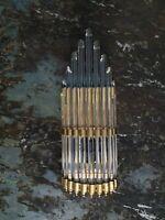 ARt DECO Style Brass & Glass Wall Lamp New