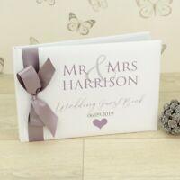 Personalised Mr & Mrs / Mr & Mr / Mrs & Mrs Wedding Guest Book
