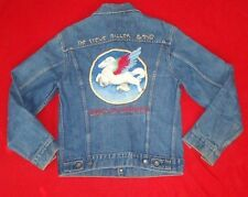 Rare Vintage Levi's Steve Miller Band Jean Jacket Size 38 Denim 70505 0217