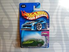 "2004 HOT WHEELS  ""FIRST EDITIONS"" #019 = HARDNOZE 1949 MERCURY = GREEN  , 0714"