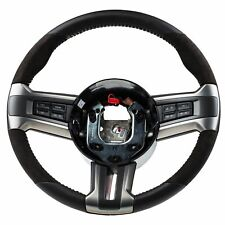 2010-2014 Ford Mustang Shelby GT500 Steering Wheel Black Leather OEM CR3Z3600AB