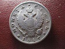 RUSIA 1 RUBLO 1817