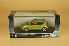 1/43 2015 China Volkswagen new Polo die cast model green color