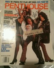 Steven Tyler Signed Joe Perry Autograph Aerosmith COA