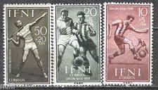 Spain IFNI Edifil # 156/158 MNH Set. Football / Sports / soccer