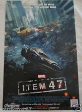 SDCC Comic Con 2012 EXCLUSIVE Marvels The Avengers ITEM 47 promo poster