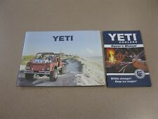 Yeti Cooler Owners Manual Instruction Booklet Accessory Ice chest instructions