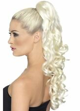Divinity Hair Extentions Curly Clip on Blonde
