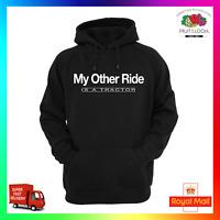 My Other Ride Is A Tractor Hoody Hoodie Farmer Grass Agri Funny Farm Farming