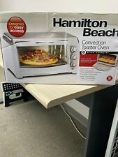 New Hamilton Beach Toaster Oven w/ Convection  31343 White