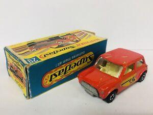 Matchbox Superfast Series 29 RACING MINI  Con Caja Original