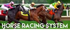 Horse racing system. Make Your Money Back In Two Days.