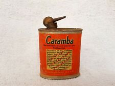 1920s Vintage Caramba Colloidal Graphite Lubricant Rust Proofing Tin Can Germany