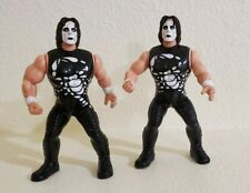 OSFT WCW Sting Wrestling Action Figures 1998 Lot of 2